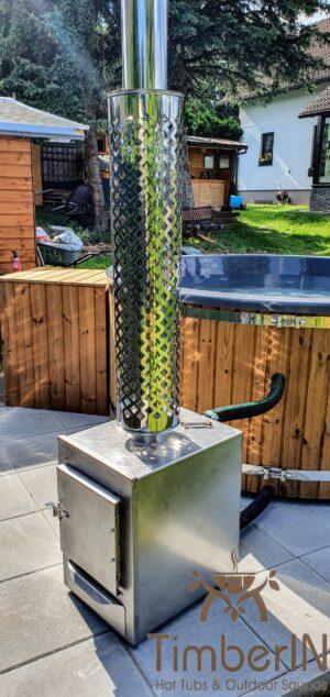 Vedfyring badestamp med bobler – TimberIN Rojal (4)