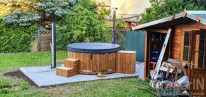 Vedfyring badestamp med bobler – TimberIN Rojal (7)