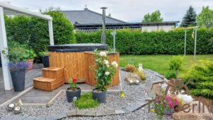 Vedfyring badestamp med bobler – TimberIN Rojal (8)