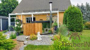 Vedfyring badestamp med bobler – TimberIN Rojal (9)