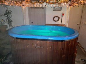 Badestamp i glassfiber for 2 personer (4)