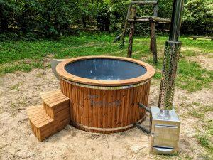Badestamp i glassfiber med utvendig ovn (22)