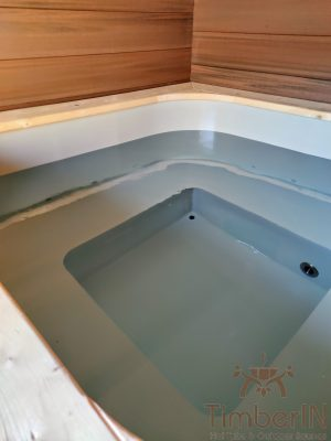 Badestamp i plast firkantet (2)