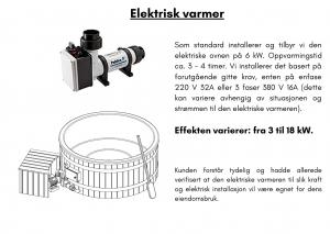 Elektrisk ovn for badestamp med ekstern varmeovn2