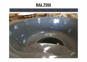 Grå (RAL 7015) for badestamp av tre