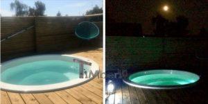Klassisk badestamp med eksterne vedovn (5)