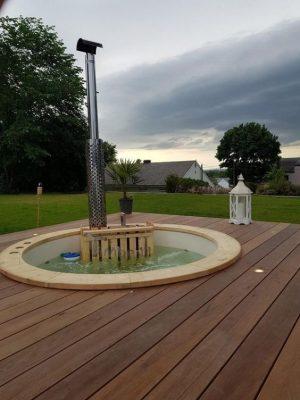 Klassisk badestamp med intern vedovn (10)