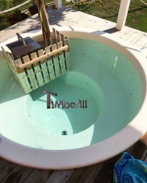 Klassisk badestamp med intern vedovn (11)