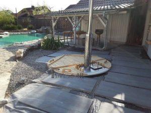Klassisk badestamp med intern vedovn (7)
