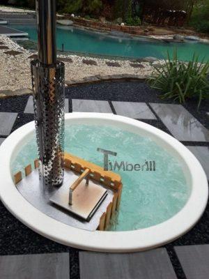 Klassisk badestamp med intern vedovn (8)