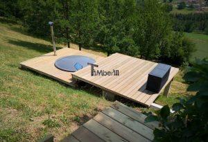 Wellness badestamp med eksterne vedovn terrace (10)