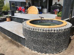 Wellness badestamp med eksterne vedovn terrace (5)