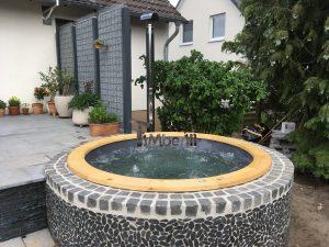 Wellness badestamp med eksterne vedovn terrace (7)