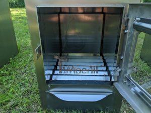 Ekstern rustfritt stål ovn for badestamper [rektangulær modell] (15)
