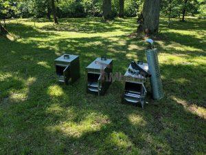 Ekstern rustfritt stål ovn for badestamper [rektangulær modell] (20)