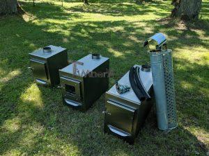 Ekstern rustfritt stål ovn for badestamper [rektangulær modell] (6)