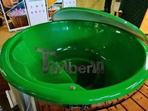 Badestamp i glassfiber med integrert ovn levende farger (18)
