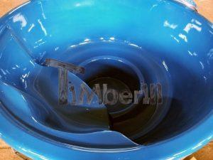Badestamp i glassfiber med integrert ovn levende farger (23)