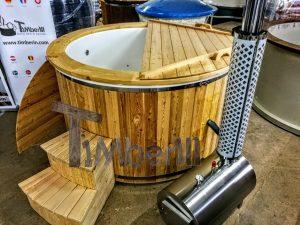 Badestamp i glassfiber med utvendig ovn (14)