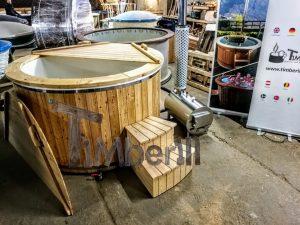 Badestamp i glassfiber med utvendig ovn (20)