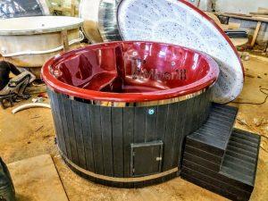 WELLNESS NEULAR SMART skandinavisk glassfibervedfyring eller elektrisk badestamp (3)