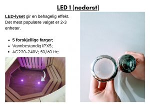 LED 1 (nederst)