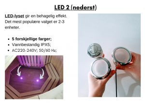 LED 2 (nederst)