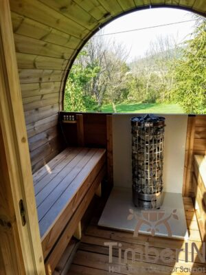 Utendørs badstuer sauna tønne (3)