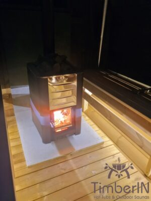 Utendørs badstuer sauna tønne (6)