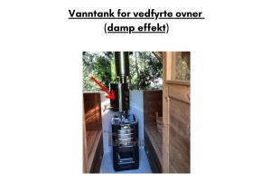 Vanntank for vedfyrte ovner til tunsa badstuen
