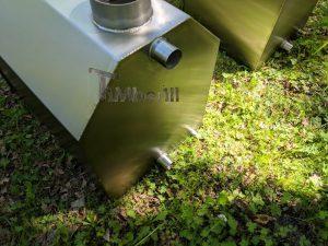 Ekstern rustfritt stål ovn for badestamper [Octagon modell] (16)