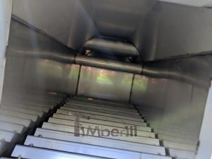 Ekstern rustfritt stål ovn for badestamper [Octagon modell] (20)