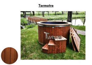 Termotre Utendørs badestamp elektrisk oppvarming ovn