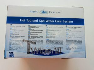 The AquaFinesse hot tub water care box (9)