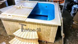 Badestamp i plast firkantet jacuzzi for max 16 personer (2)