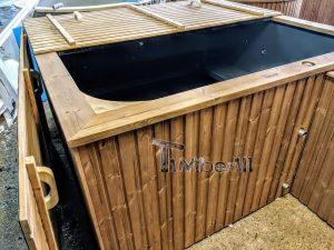 Badetonne eckig Micro Pool für 16 Personen! Party tub! (14)