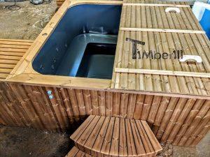 Badetonne eckig Micro Pool für 16 Personen! Party tub! (4)