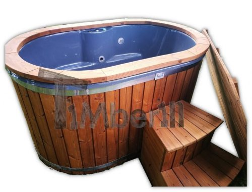 Japansk badestamp i glassfiber 2 personer TimberIN 42