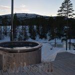 Badestamp i glassfiber med integrert ovn termo tre Wellness Royal, Gunnar Bjøru, Kongsberg, NORWAY main