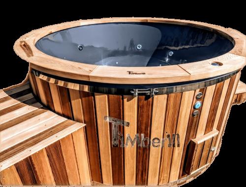 Elektrisk utendørs badestamp Wellness konisk (1)