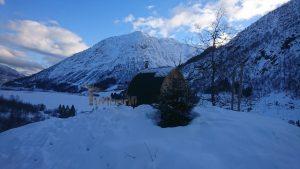 Utendørs badstu iglu med panoramavindue, Tobias, Norge (6)