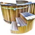 Eksklusiv kanadisk rød Cedar spa (1)