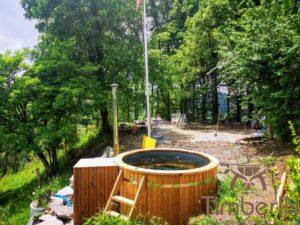 Vedfyrt elektrisk badestamp plast (2)