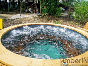 Vedfyrt elektrisk badestamp plast (3)