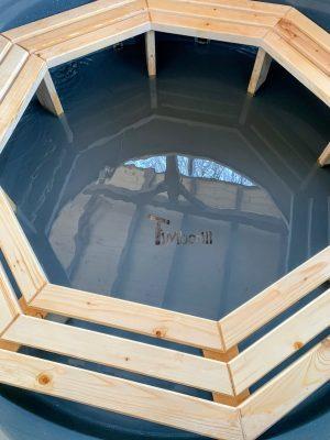 Vedfyrt elektrisk badestamp plast (4)