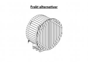 Vedfyrt elektrisk badestamp plast Frakt alternativer (27)