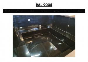 Vedfyrt elektrisk badestamp plast Svart (RAL 9005) (23)
