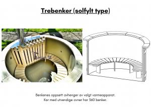 Vedfyrt elektrisk badestamp plast Trebenker (solfylt type) (7)
