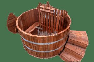 Badestamp treverk termotre