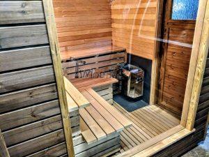 Moderne utendørs hage badstue (10)